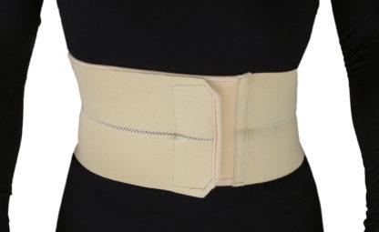 2-Panel Abdominal Binder hernia support belt after surgery, Belly Wrap Brace,Trimming Waist