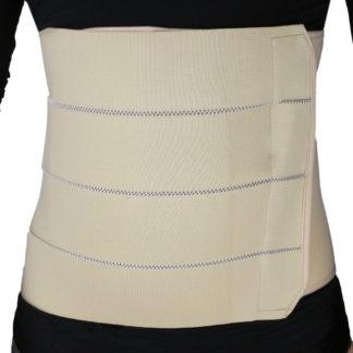 ObboMed 4-Panel Abdominal Binder hernia support belt after surgery, Belly Wrap Brace,Trimming Waist