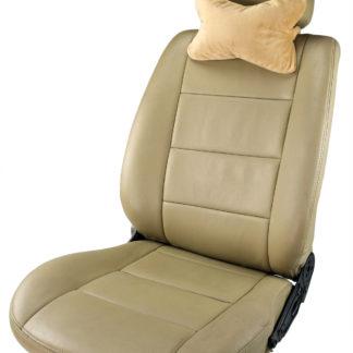 Micro-beads Headrest, Velour Cover car seat headrest