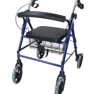 Obbomed Foldable Rollator With Lock Brakes Obbomed