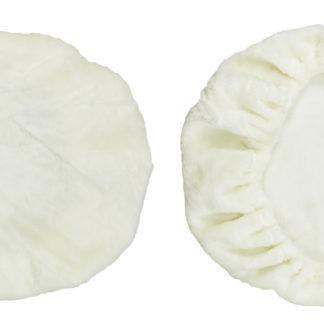 Fleece Cover for Adjustable Mesh Lumbar Support- Cream