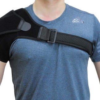 Shoulder Brace Rotator Cuff Compression Support Adjustable Belt Wrap