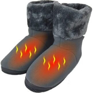 USB 5V 10W Cozy Carbon Fiber Heated Warming Booties
